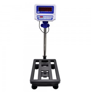 FWN-V10D bench scale with 430 stainless steel platform and pan LED display