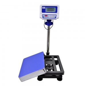 FWN-V10DL bench scale with 430 stainless steel platform and pan LCD display