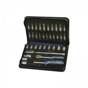37 Pcs 1/4″ Dr. & Socket Set
