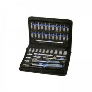 46 Pcs 1/4″ Dr. Socket Set