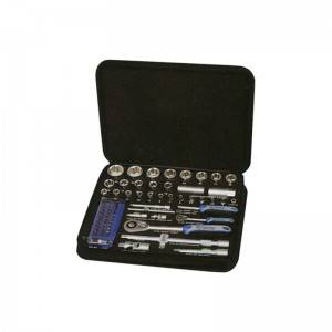"70 Pcs 1/2""Dr. &1/4″ Dr. Socket Set"