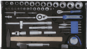 121pcs Professional Tool Set