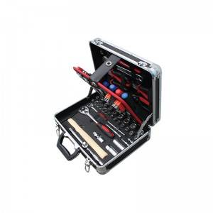 TCA-002A-98 Aluminum Case with Professional Tool set