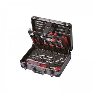 TCA-005A-127 Aluminum Case with Professional Tool Set