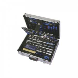 TCA-006A-127 Aluminum Case with Professional Tool Set