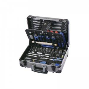 TCA-007A-121 Aluminum Case with Professional Tool Set