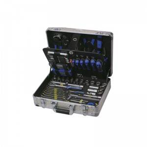 TCA-009A-132 Aluminum Case with Professional Tool Set