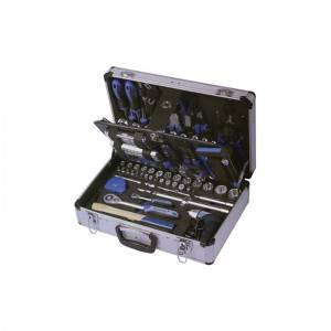 TCA-012A-117  Aluminum Case with Professional Tool Set