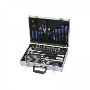 TCA-021A-493  Aluminum Case with Professional Tool Set