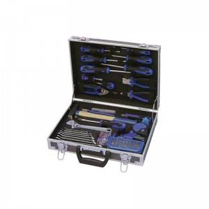 TCA-024A-078  Aluminum Case with Professional Tool Set