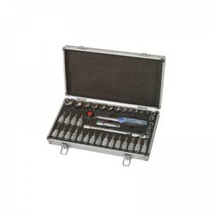 TCA-033A-339  Aluminum Case with Socket set