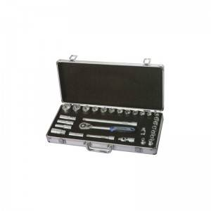 TCA-040A-429 Aluminum Case with Socket set