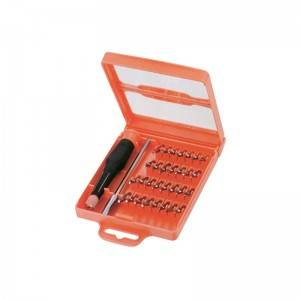 TCC-006A-32 Injection molding tool box with Precision screwdriver set