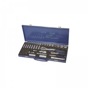 TCE-005A-460 Iron tool case with Professional socket set