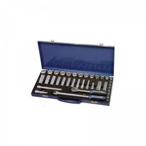 TCE-011A-336 Iron tool case with Professional socket set