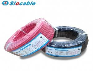 Photovoltaic Plant 4mm 6mm Solar PV Cable