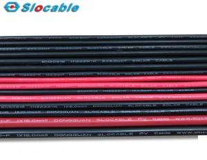 Slocable Single-Core 10awg Solar Cable for Solar Power System 1000V