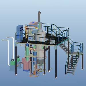 EIGA Titanium Powder gasverstuivingssysteem Equipment