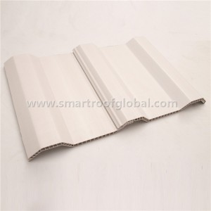 ASA+PVC Hollow Corrugated Roof Sheet