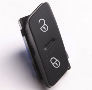 CAR CENTRAL DOOR LOCK SWITCH FOR VW 1K0 962 125 B