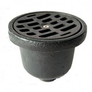 cast iron floor drains