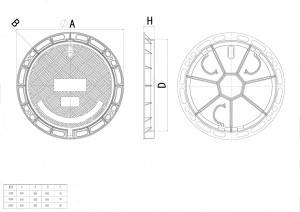 Manhole Covers with Spring Lock