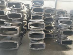 Gate valve bodies and bonnets, elbows with lot production