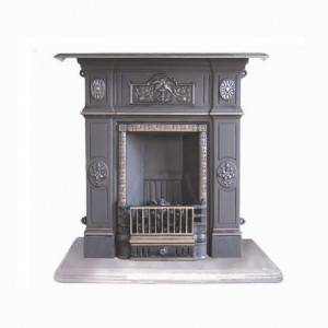 Cast Iron Wood Fireplaces FP12