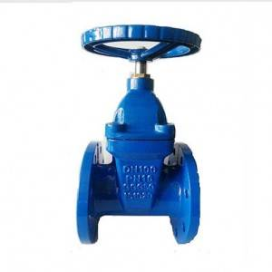 Non Rising Stem Resilient Soft Seated Gate Valves DIN 3352-F4