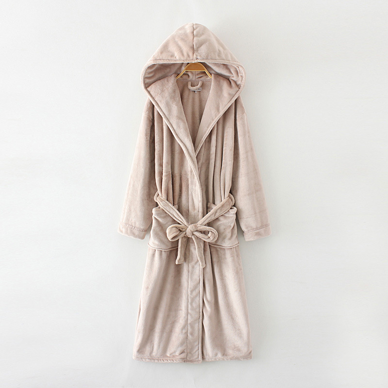 Chinese wholesale Satin Long Sleeve Bathrobe -
