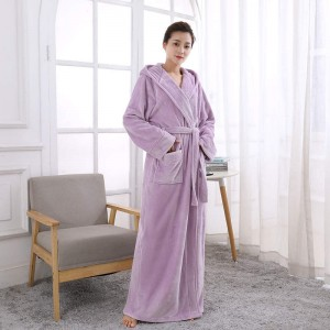Manufacturer for Polyester Fleece Bathrobe -