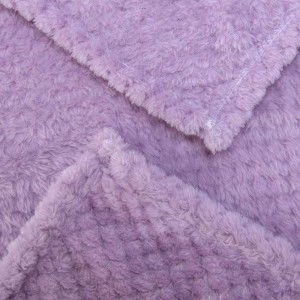 Fleece Travel Jacquard Blanket