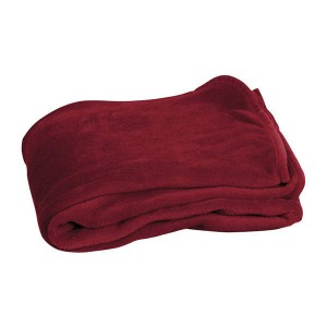 Coral Fleece Blanket With Bag