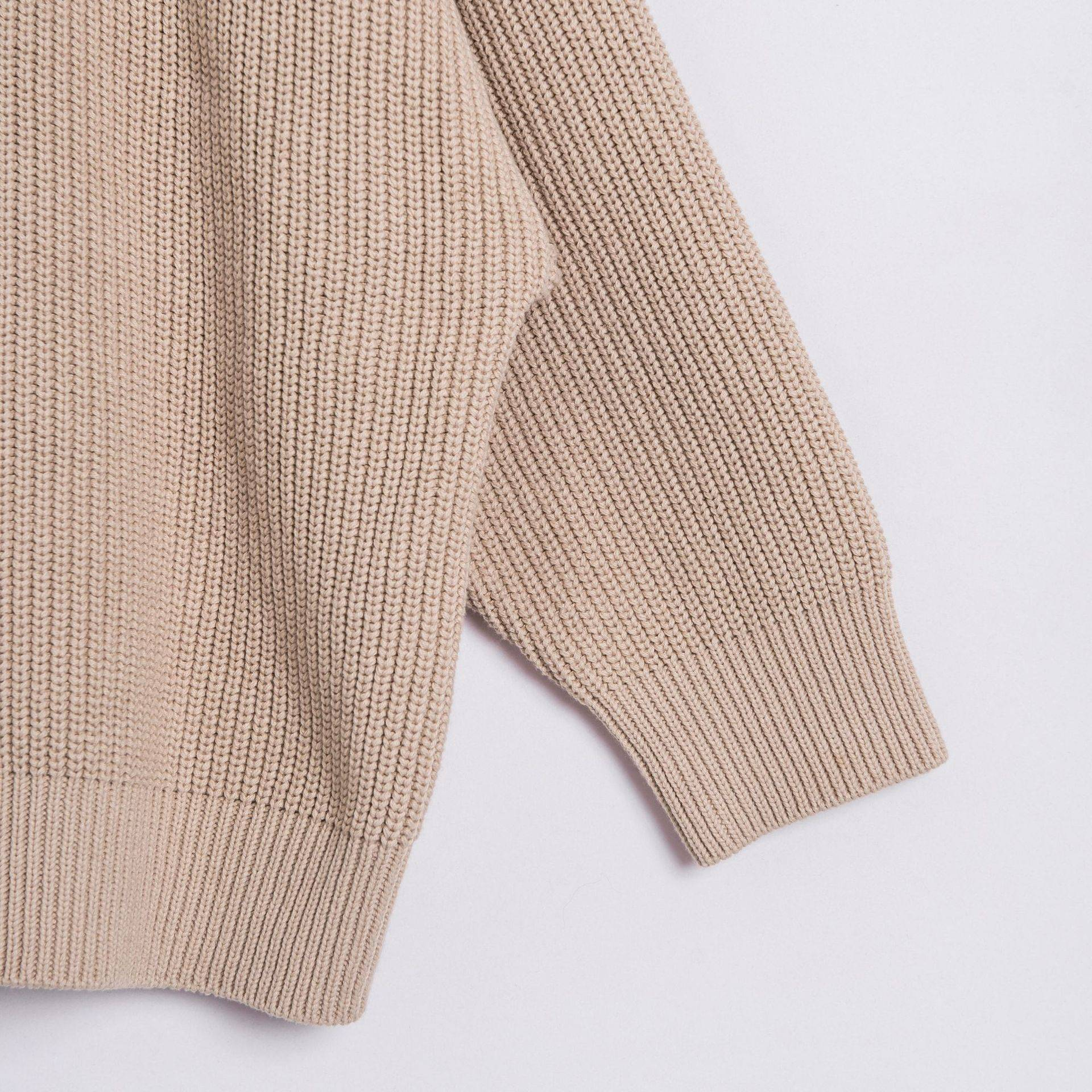 OEM cardigan for women custom thin knit long sleeve cotton plain anti-wrinkle sweater V neck spring autumn for girs Featured Image