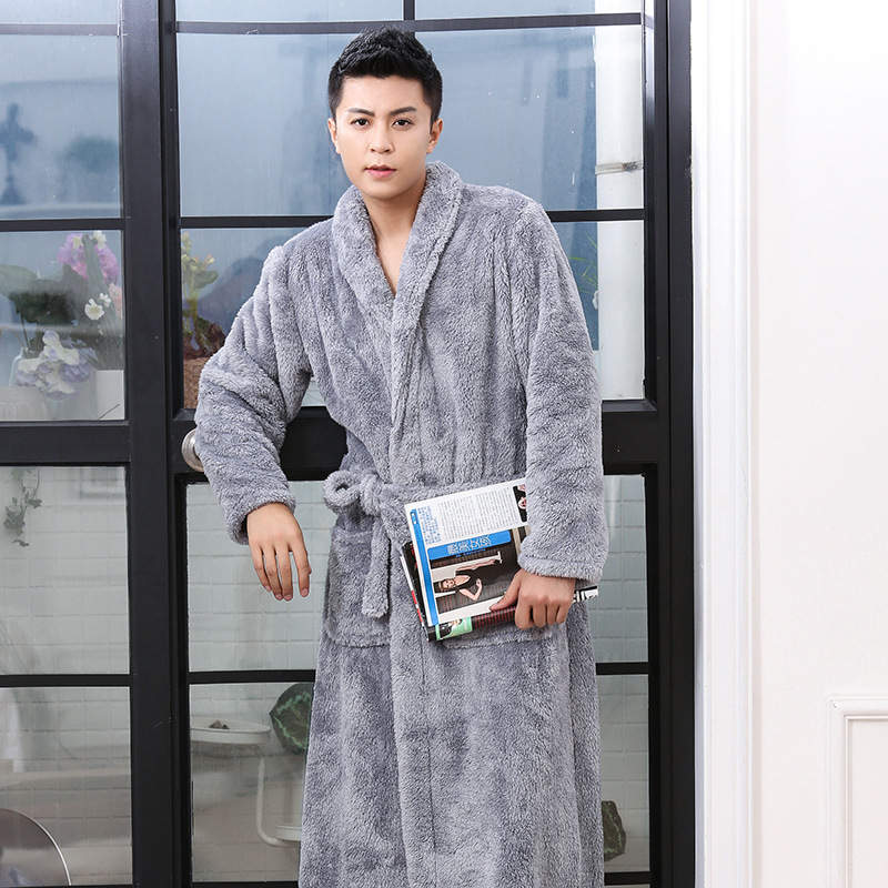 Factory wholesale Sherpa Fleece Fabric – Microfiber Bathrobe – Longdian detail pictures