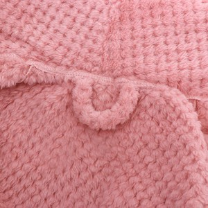 Plush Microfiber Bathrobe