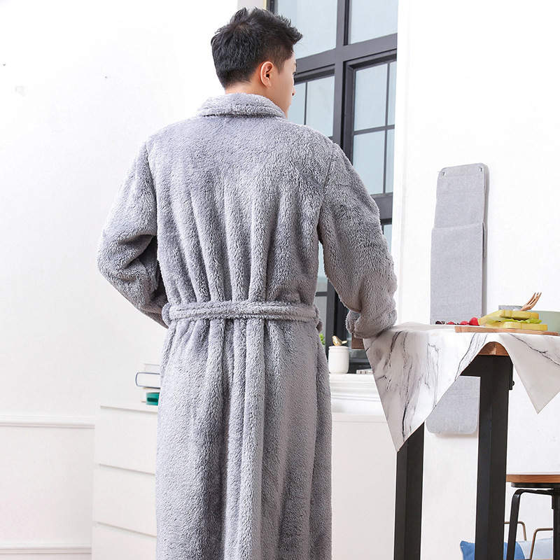 Factory wholesale Sherpa Fleece Fabric – Microfiber Bathrobe – Longdian