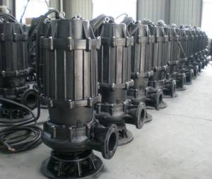 WQ Non Clogging Centrifugal Sewage water Pump