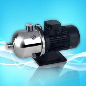OEM/ODM Manufacturer Intelligent Booster Water Suction Pump - CHL Horizontal Multistage Stainless Steel Centrifugal Pump – SOG Pumps