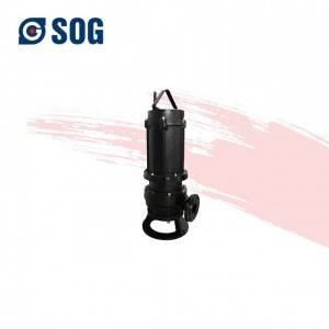 High Quality Electric 5hp submersible pump price  WQ Non Clogging Submersible Vertical Centrifugal Sewage Pump