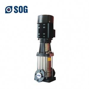 high pressure stainless steel centrifugal multistage water pump for high rise building