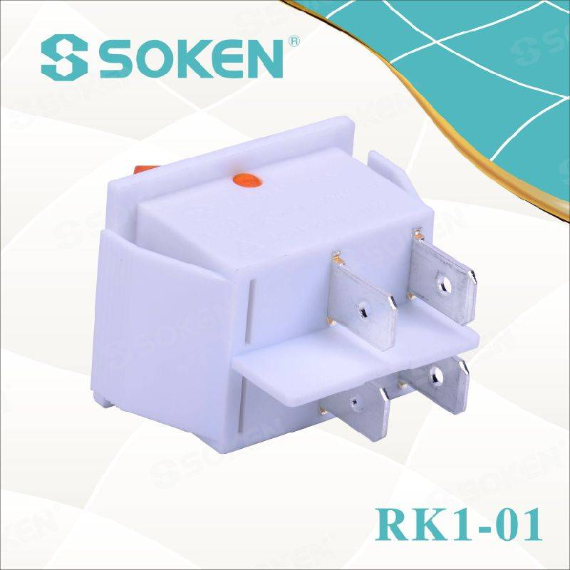 12V LED Rocker Switch with UL Certificate