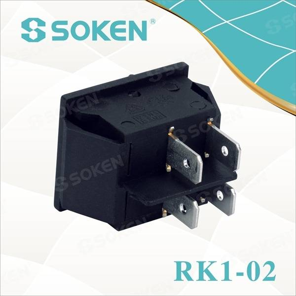 Automotive Dpst Power Rocker Switch