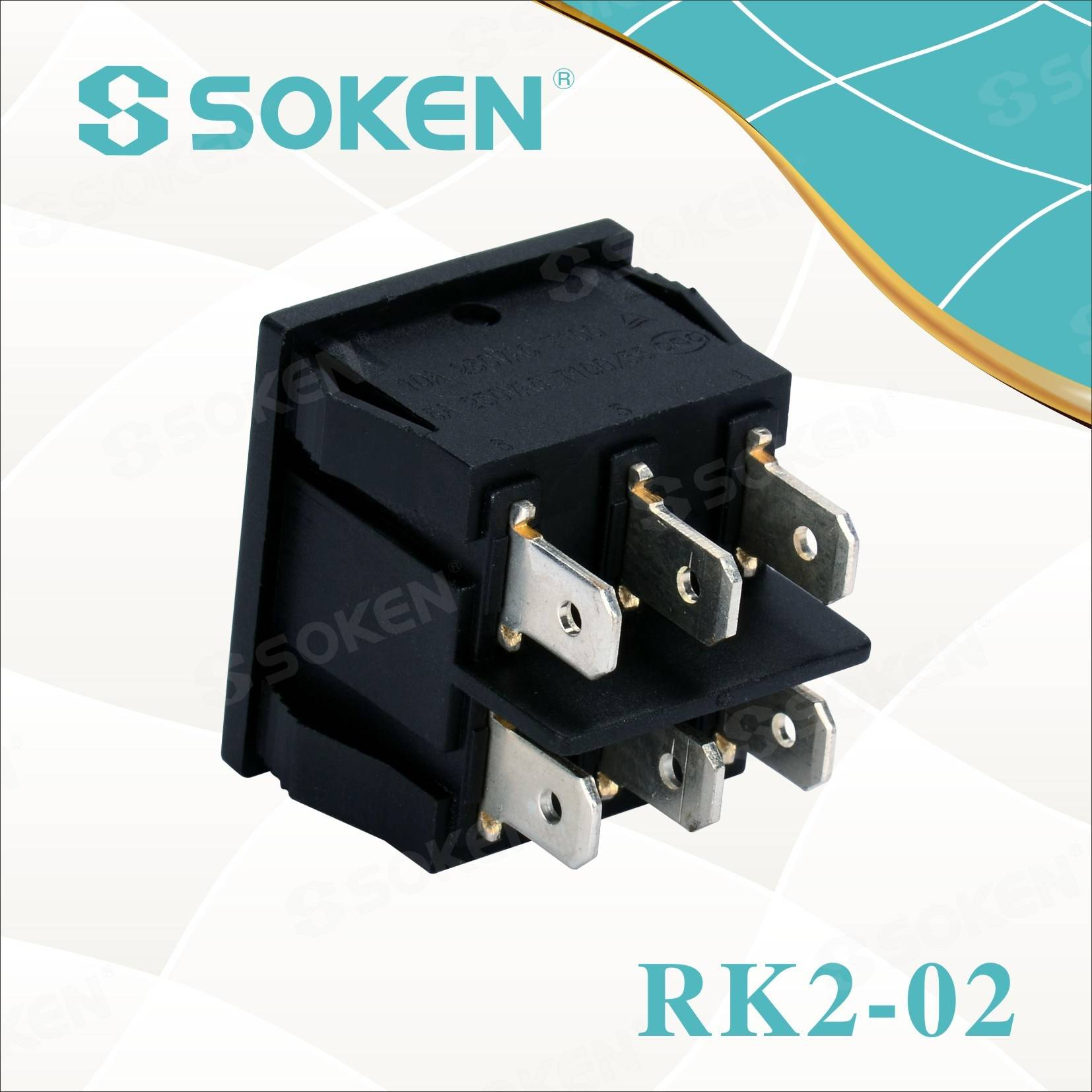 Professional Design Indicator boat Switch -