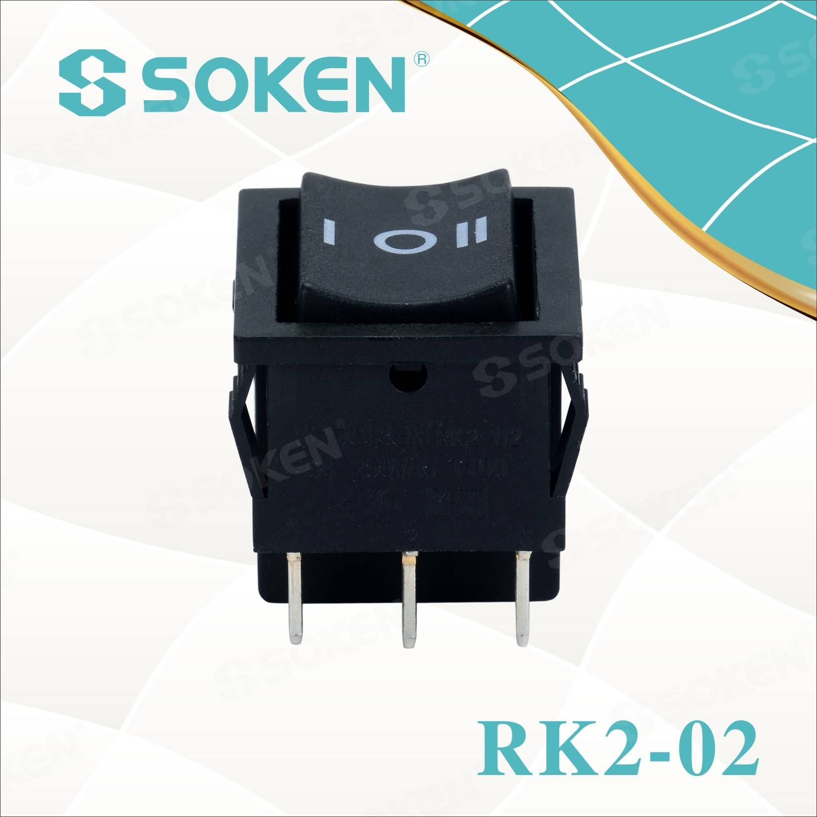2019 Latest Design Blender Power Rotary On/off 3 Position Rotary Power Switches Sj-a1f02-3