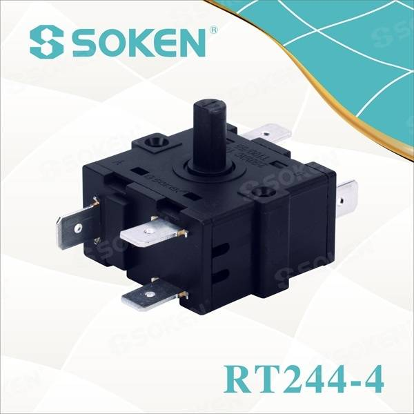 Fan Rotary Switch with 6 Pins (RT244-4)