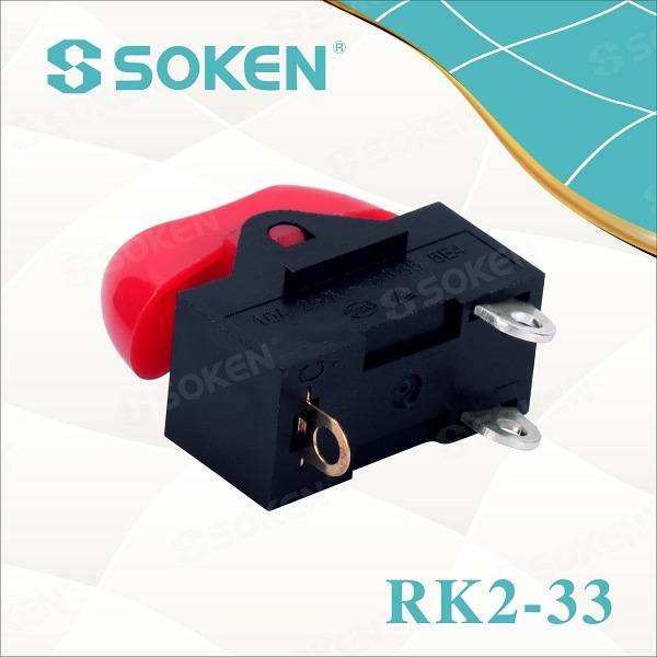 Hair Dryer Rocker Switch/ Mini on-off-on Switch T85 10A 250VAC