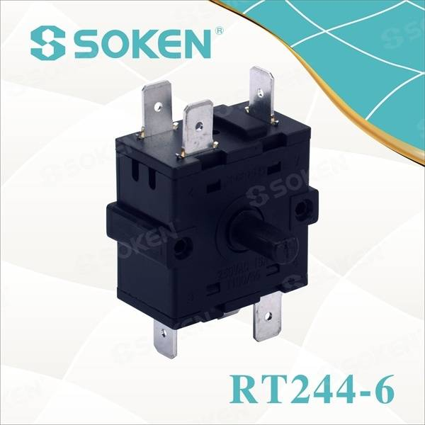 Factory Cheap Hot 125v 6a Black Rocker Switch -