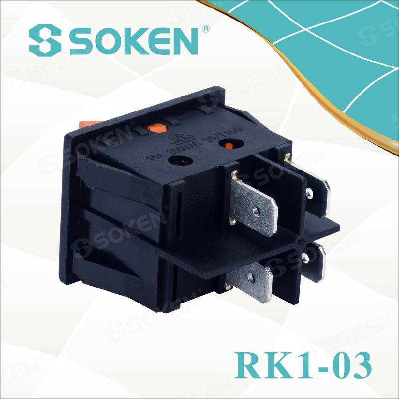 Goleuedig Rocker Switch