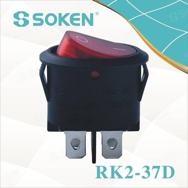 SOKEN RK2-37 Socket switch// electrical switch socket